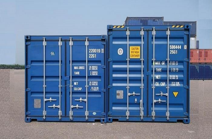20ft en 20ft high cube containers