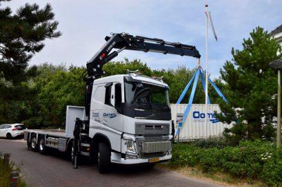 Autolaadkraan Volvo containers